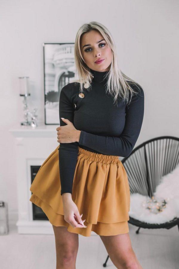 Sukňa Paulína hnedá