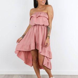 Ružové šaty Hana