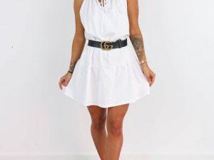 Biele šaty Dada