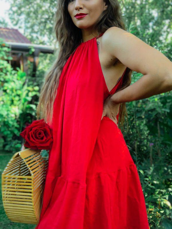 Červené šaty Darinka