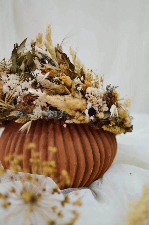 Parta zo sušených bylín a kvetov Liliana